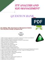 Question Bank SAIM