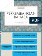 Perkembangan Bahasa Ppt