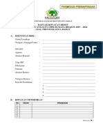 Form Caleg Dpr