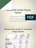 256598_Karakteristik Limbah Tepung Tapioka