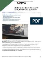 Bansal Family Suicide_ Black Money, 30 Bank Lockers, New CCTV Evidence
