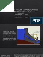 Bendungan Dengan Beton Penyangga (Concrete Buttress Dam