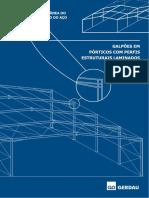 Manual Galpao.cdr Manual Galpoes Em Porticos Perfis Estruturais Laminados