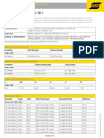 Esab, Dual Shield 810X Ni1 (248 En_US FactSheet_Main 01)
