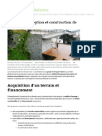 Etapes de Conception Et Construction de Maison - Architecte de Maisons