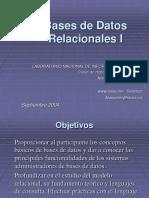 Bases de datos relacionales 1