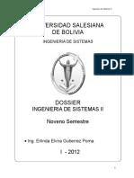 Universidad Salesiana de Bolivia Ingenier_a de Sistemas II Ingen