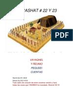 Parashat Vayaqel-Pequdei # 22, 23 Inf 6017