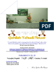 Parashat Vayaqel-Pequdei # 22, 23 Adul 6017