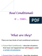Real Conditionals (1)