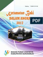Kecamatan Baki Dalam Angka 2017