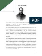 Auguste Comte Jaun Paul Sartre