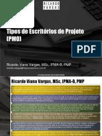 Ricardo Vargas Tipos Pmo Ppt Pt