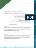 Ginestra, Emanuel - Partículas Atómicas y Partícula Eucarística