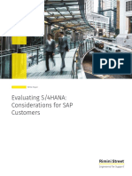 Rimini Street White Paper Evaluating S4HANA Considerations for SAP Customers