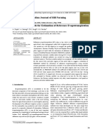 12.Evaluation of Methods for Estimation of Reference Evapotranspiration