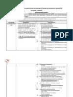 Matriz de Diversificación de Competencias - Primaria