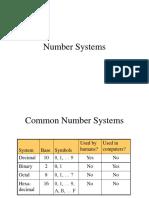 Number System - Machine Language