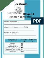 1er Grado - Bloque 1 (2013-2014)