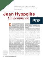 Jean Hyppolite, un homme de parole