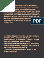 Libro de Las Candelas 2018. Ceip Virgen de La Consolación. Feria