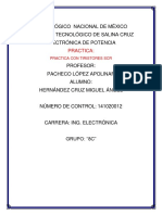 Practica Con Tiristores Scr- Hernandez Cruz Miguel Angel