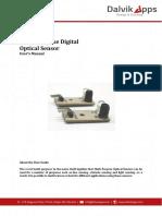 User Manual for Multi Purpose Digital Optical Sensor