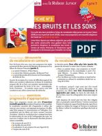 Bruits Sons CM1