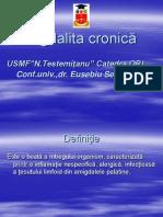 Amigdalita cronică