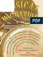 APARICIO Frances Et Al. (Eds.) - Musical Migrations Transnationalism and Cultural Hybridity in Latino America