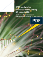 EY IFRS Update for Financial Years End 30 June 2010