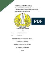 Cover Makalah Pancasila