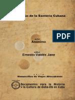 El Dilogún de La Santería Cubana
