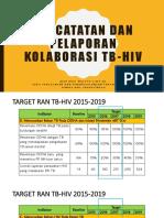 Pencatatan Dan Pelaporan Tb Hiv