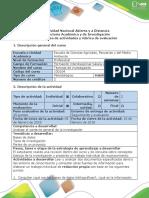 Guía # 1 de Actividades y Rúbrica de Evaluación - Actividad 1 Realizar Un Documento Sobre Los Conocimientos Previos Del Proceso de Investigación
