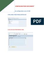 Jsp Sap Pm Configuration Document