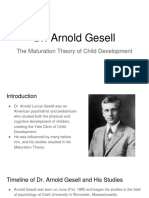arnold gesell theorist project