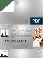 Praktike Juridike - Ligj 1