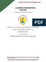 EC6401-Electronic Circuits II