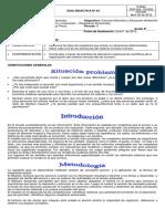 GUIA DIDÁCTICA- Estimulos y Respuesta Nº 04 8º3