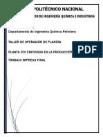 Planta Fcc Esiqie