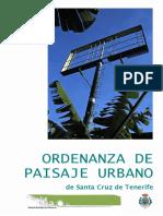 Ordenanza Paisaje Urbano