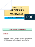 1. Hipotesis Variables y Op