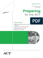ACT 2009-2010 test prepration with answers.pdf