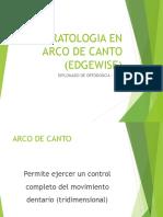 Aparatologia en Arco de Canto (Edgewise)