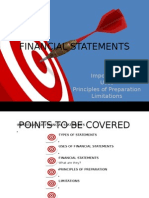 Financial Statements(Assignment 1)