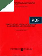 Dirección Multinacional de Empresa