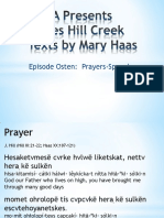RWSA Presents James Hill Creek Texts by Mary Haas Episode 4