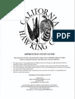 California Hawking Club Test Guide