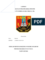 Laporan Pelaksanaan Praktik kerja Industri pada PT Sumber Alfaria Trijaya, Tbk  ( Alfamart )